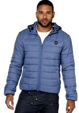 New Mens 883 Police Shaka Quilted Jacket Stellar Blue Size 6 XXL 2XL RRP£75