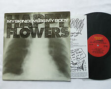 HAPPY FLOWERS My skin covers my body USA LP HOMESTEAD (1987)noise experimental