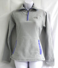 The North Face Kechua 1 4 Zip Maglioncino in Pile Giacca Camicia XS Grigio af5a915f7d13