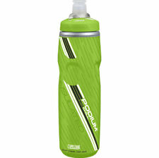 Green Wide Mouth Bicycle Water Bottles and Cages
