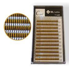 BLINK 2 D-Lashes, künstliche Wimpern Eyelash Extensions 13 mm C-Curl, 0,2
