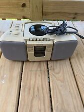 Sony Cfd-20 Cd/Radio/Cassette Boombox, Used, Good Condition