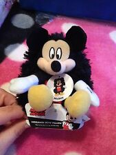 """Disney Mickey Mouse Hideaway Pets Pillow 5"""" Plush NWT for all ages"""