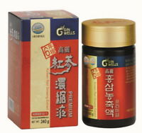 ILHWA Korean Red Ginseng Pure Extract 100g-240g / 100% Made of 6 Years Roots