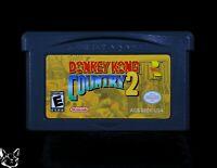 Donkey Kong Country 2 [Nintendo Game Boy Advance GBA DKC2 Gorilla FUN USA SELLER
