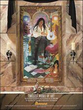 Steve Vai 1993 Sex & Religion Ibanez JEM 7VWH 7 string guitar 8 x 11 ad print