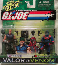 G.I. Joe Valor vs Venom Gung Ho vs Cobra Viper 2-Pack Action Figures Hasbro NEW