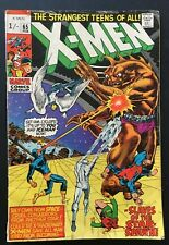 X-MEN 65. VOLUME. 1. 1970. SCARCE BRONZE AGE. STAR SPAWN. APP NEAL ADAMS ART VG-