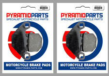 Front & Rear Brake Pads for Hyosung Eva Electric Scooter (ST-E3) 2013