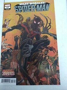 Miles Morales Spider-man #17(2020) Marvel Zombies variant (9.0)