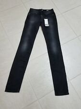 "NWT D&G Dolce&Gabbana Black Women's ""Cute"" tight Fit Jeans Authentic Sz 25"