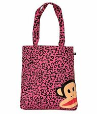 OFFICIAL PAUL FRANK PINK LEOPARD PRINT SHOPPING SHOPPER BAG NEW WITH TAGS