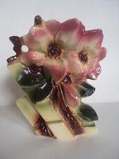 Rare! Vintage Original McCoy Pottery Magnolia Vase. Beautiful! Look!