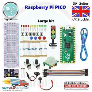 Raspberry Pi Pico RP2040 Microcontroller Board + Basic Electronic Kit