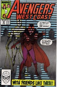 WEST COAST AVENGERS (1985) #47 - Back Issue