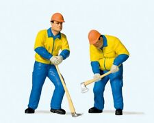 Preiser 44913 Moderne Waldarbeiter (2) Miniaturfiguren Maßstab 1:22,5