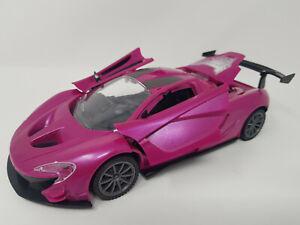 HOT Pink Ferrari Rc Car Radio Remote Control Car 1/18 BAT Opening Doors