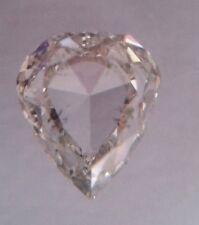 Diamant Poire de 0,29 carat couleur H et pureté SI2 certifié IGI Pear diamond