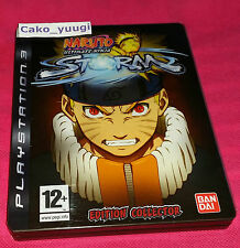 NARUTO ULTIMATE NINJA STORM COLLECTOR SONY PS3 TRES BON ETAT VERSION FRANCAISE