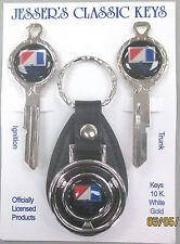 AMC American Motors Corp Black Deluxe Classic Keys Set 1970 1971 1972 1973 1974