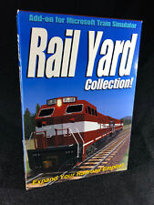Add-on for Microsoft Train Simulator: Rail Yard Collection (PC, 2002, New)