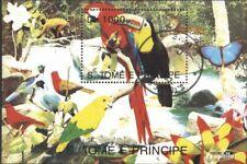 Sao Tome e Principe gestempeld 1993 Vogels