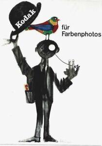 Original vintage poster KODAK COLOR PHOTO SHOOTING 1957