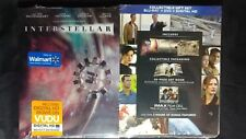 Interstellar (Nolan, 2014) Limited Edition Blu-ray Walmart Gift Set - OOP & Rare
