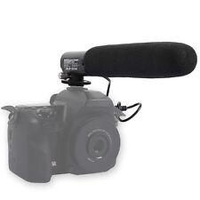 DC/DV Micrófono Mic para Cámara Canon 60D/650D/600D/550D/7D/6 D y Pentax K-5/K7/K30