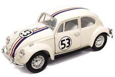 Lucky Diecast Modellauto: VW Käfer / Beetle Herbie The Love Bug #53 1:24