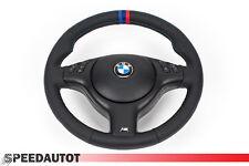 Volante Volante in pelle Cuoio BMW E46 M3 Volante con Apertura Nero e Airbag 3P