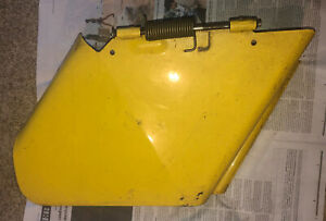 John Deere METAL Discharge Chute for unknown Lawn Mower / Tractor Deck w Spring