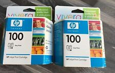 HP Vivera 100 Gray Photo Ink cartridge Exp 10/2006 Set of 2 Cartridges