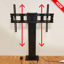 """MOTORISED TV STAND • 32""""-80"""" Adjustable Screen Wall Mount Monitor LCD Lift Lower"""