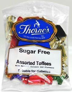 Assorted Toffees Sugar Free - Sugar Free Toffee Sweets  - 2x100g Prepacked Bags