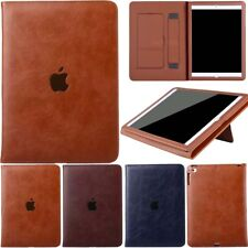 Slim Leather Smart Stand Business Case Cover For iPad 5th 6th 7th Gen Mini Air 2