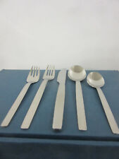 W.M.F. New York fine contemporary German  stainless 18/8  4-5 pc place settings