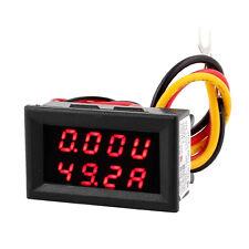 DC 0-30V 0-100A LED rojo Pantalla Digital Voltimetro Amperimetro Metros H2D5
