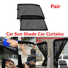 Pair UV Protection Car Sun Shade Car Curtains For Front Side Window Accessories