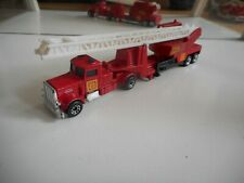 Matchbox Convoy Fire Engine in Red/White