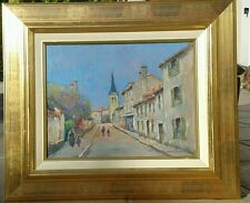 BEAU TABLEAU DE HENRI STENN  1903 -1993