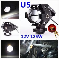 125W Motorcycle U5 LED Headlight Fog Driving Lamp Spot Light For BMW hiya