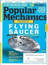 Popular Mechanics February 2013, Secret U.S. Flying Saucer, Stop Hackers Now!