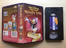 DISNEY - MELODY TIME - VHS VIDEO - BRAND NEW & SEALED