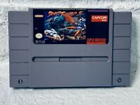 Street Fighter II 2 SUPER NINTENDO SNES Game Cleaned And Tested Authentic Cart