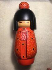 JAPANESE WOOD KOKESHI DOLL