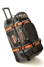 Harley-Davidson 22in Wheeled Pullman Duffel Carry-on Luggage Bag 99415-BLACK