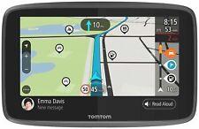 TomTom Go Camper 6 inch 16 GB GPS Navigator-Worldwide Maps - Black