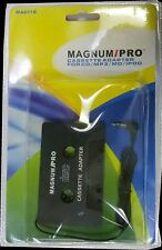 Magnum Pro Ma801B Cassette Adapter for Cd/Mp3/Md/iPod