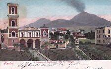 RESINA - Il Santuario di Pugliano e Vista dal Vesuvio 1915